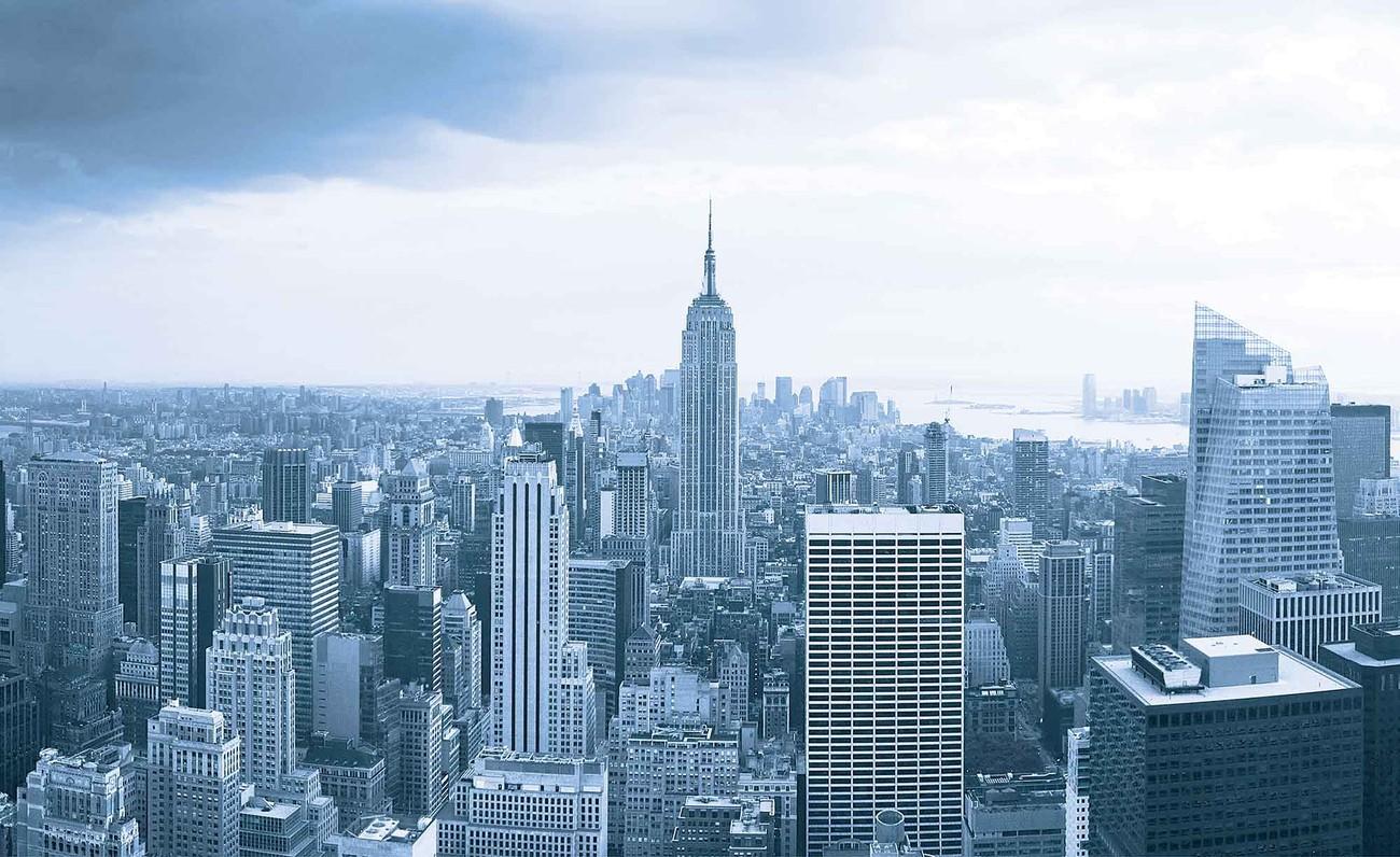 Fotomurale edificio empire state de nueva york papel - Papel pintado nueva york ...