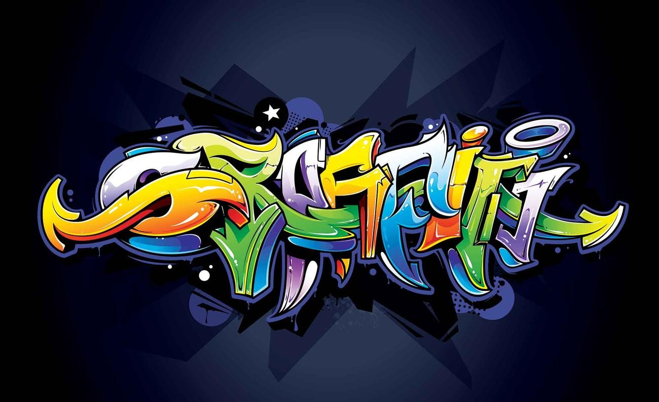 Fotomurale Graffity arte callejero, Papel pintado | Europosters.es