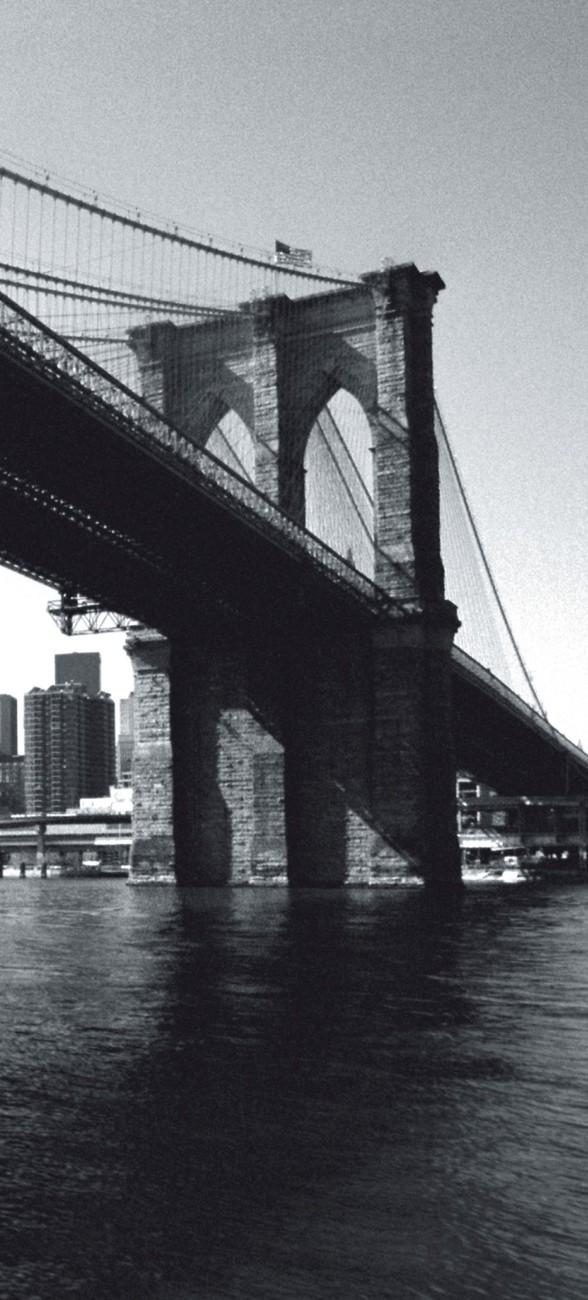 Fotomurale nueva york brooklyn bridge papel pintado - Papel pintado nueva york ...