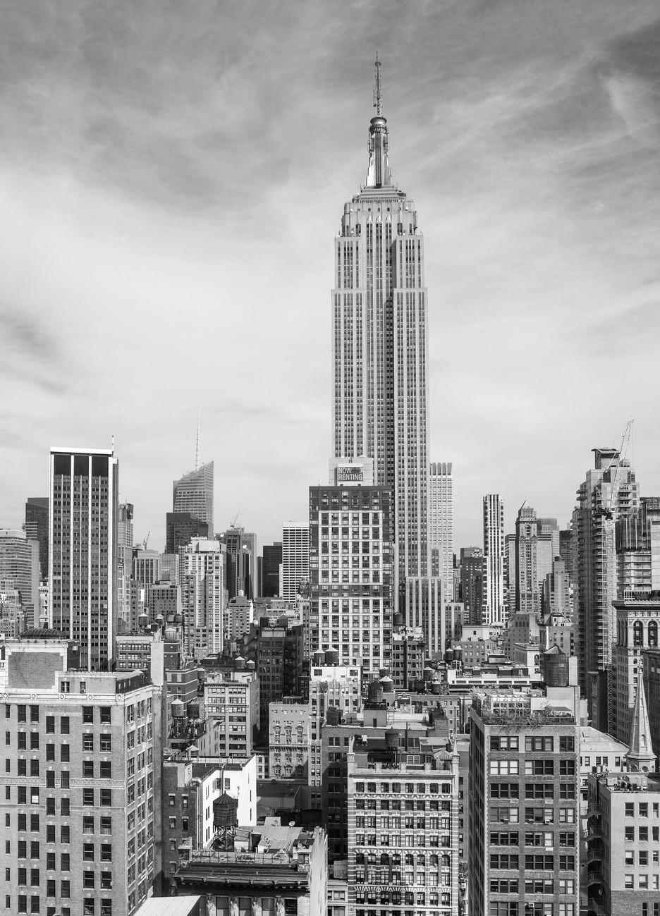 Fotomurale nueva york the empire state building papel - Papel pintado nueva york ...