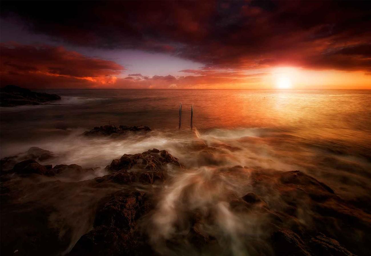 Fotomurale sunrise in tenerife papel pintado for Papel pintado tenerife
