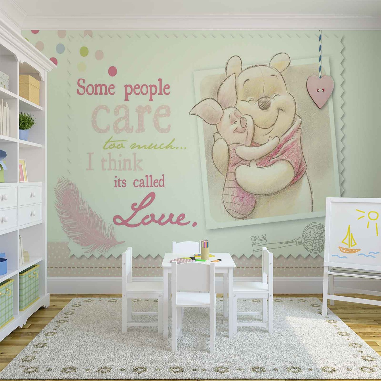 disney winnie pooh piglet tapeta zidne tapete. Black Bedroom Furniture Sets. Home Design Ideas
