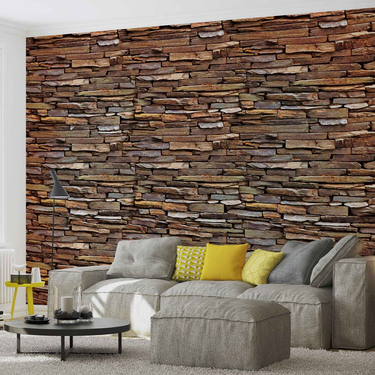 stone wall fototapeta tapeta. Black Bedroom Furniture Sets. Home Design Ideas