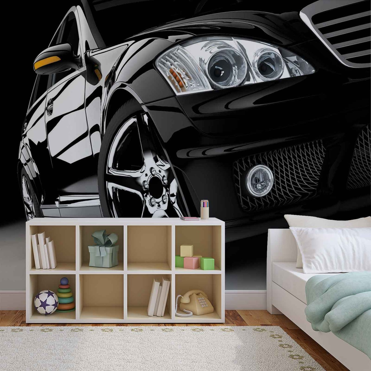 fototapete tapete auto luxus bei europosters. Black Bedroom Furniture Sets. Home Design Ideas