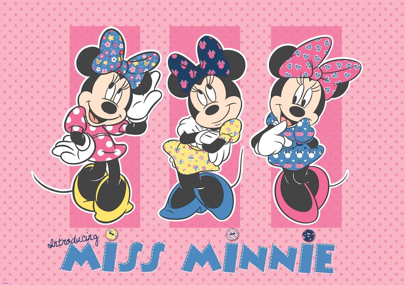 Fototapete, Tapete Disney Minnie Mouse bei EuroPosters - Kostenloser ...