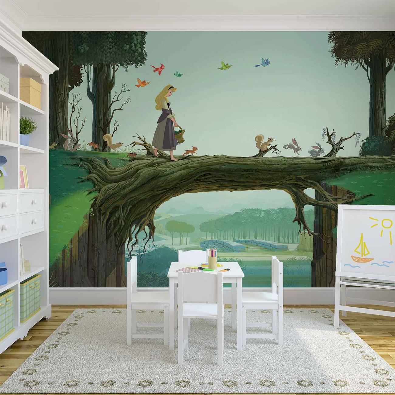 fototapete tapete disney prinzessinnen sleeping beauty bei europosters kostenloser versand. Black Bedroom Furniture Sets. Home Design Ideas