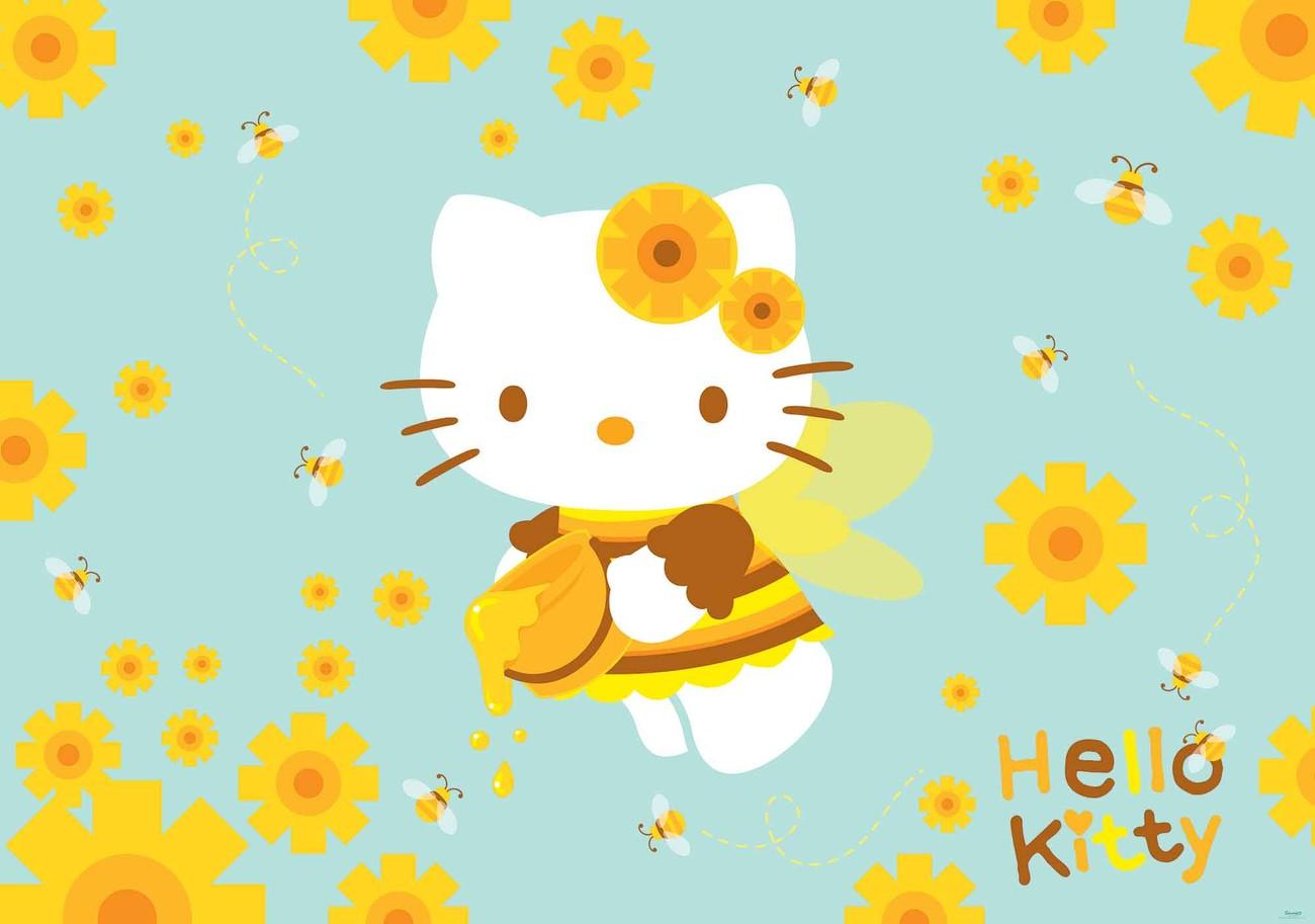 Fototapete, Tapete Hello Kitty bei EuroPosters - Kostenloser Versand