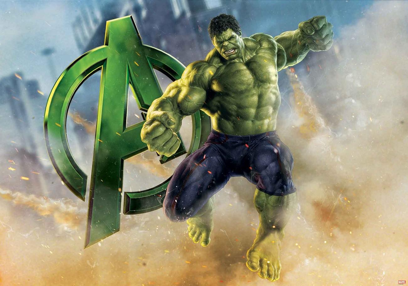 Fototapete Tapete Marvel Avengers Hulk Bei Europosters