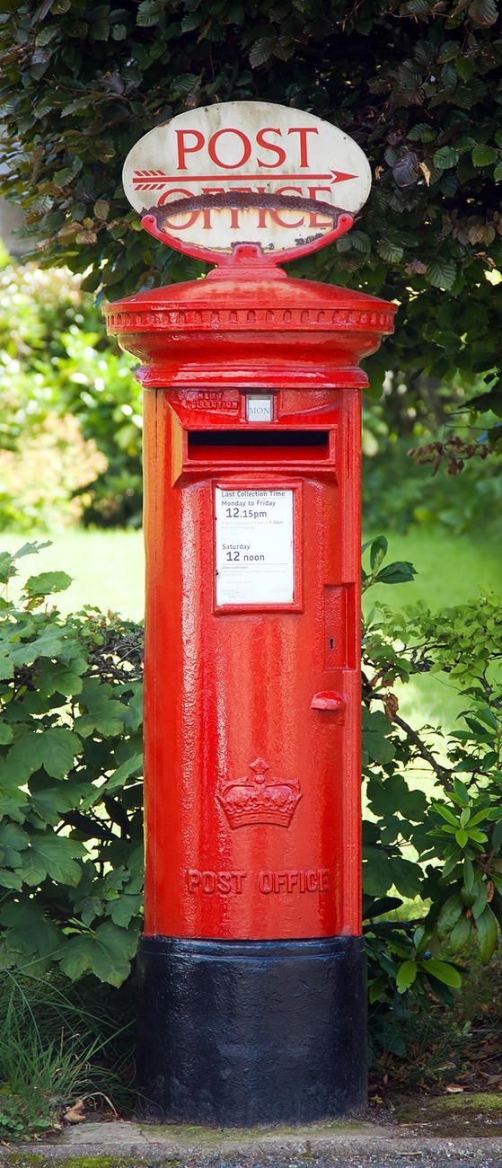 Fototapete Tapete Postbox Bei Europosters Kostenloser Versand