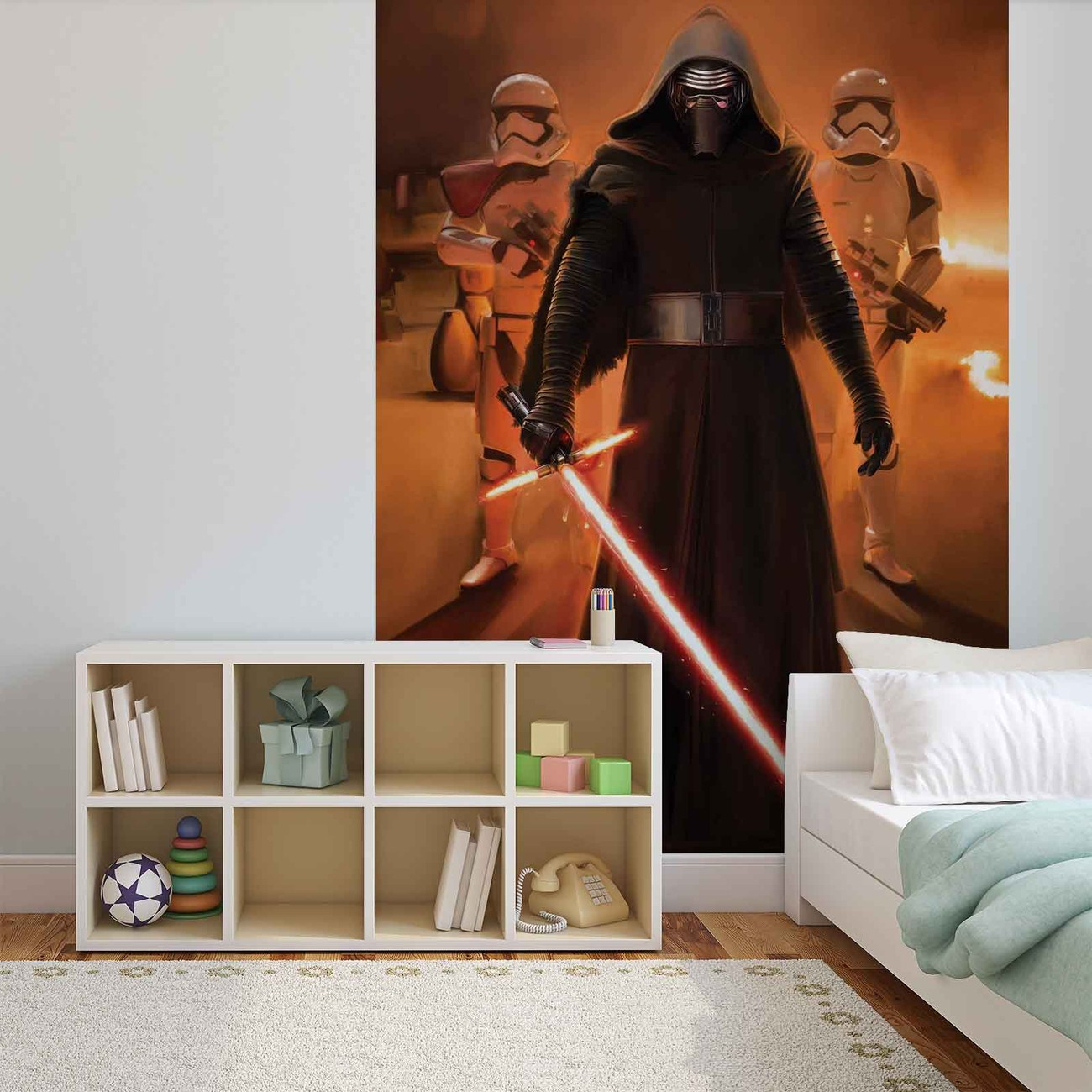 fototapete tapete star wars erwachen macht bei europosters. Black Bedroom Furniture Sets. Home Design Ideas