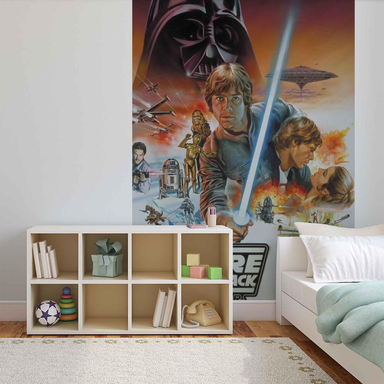 fototapete tapete star wars imperium schl gt zur ck bei. Black Bedroom Furniture Sets. Home Design Ideas