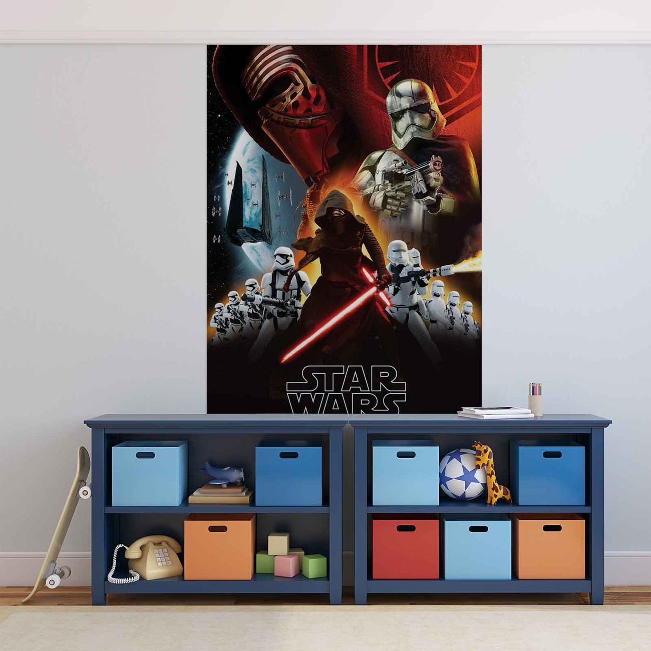 fototapete tapete star wars stormtruppen bei europosters. Black Bedroom Furniture Sets. Home Design Ideas