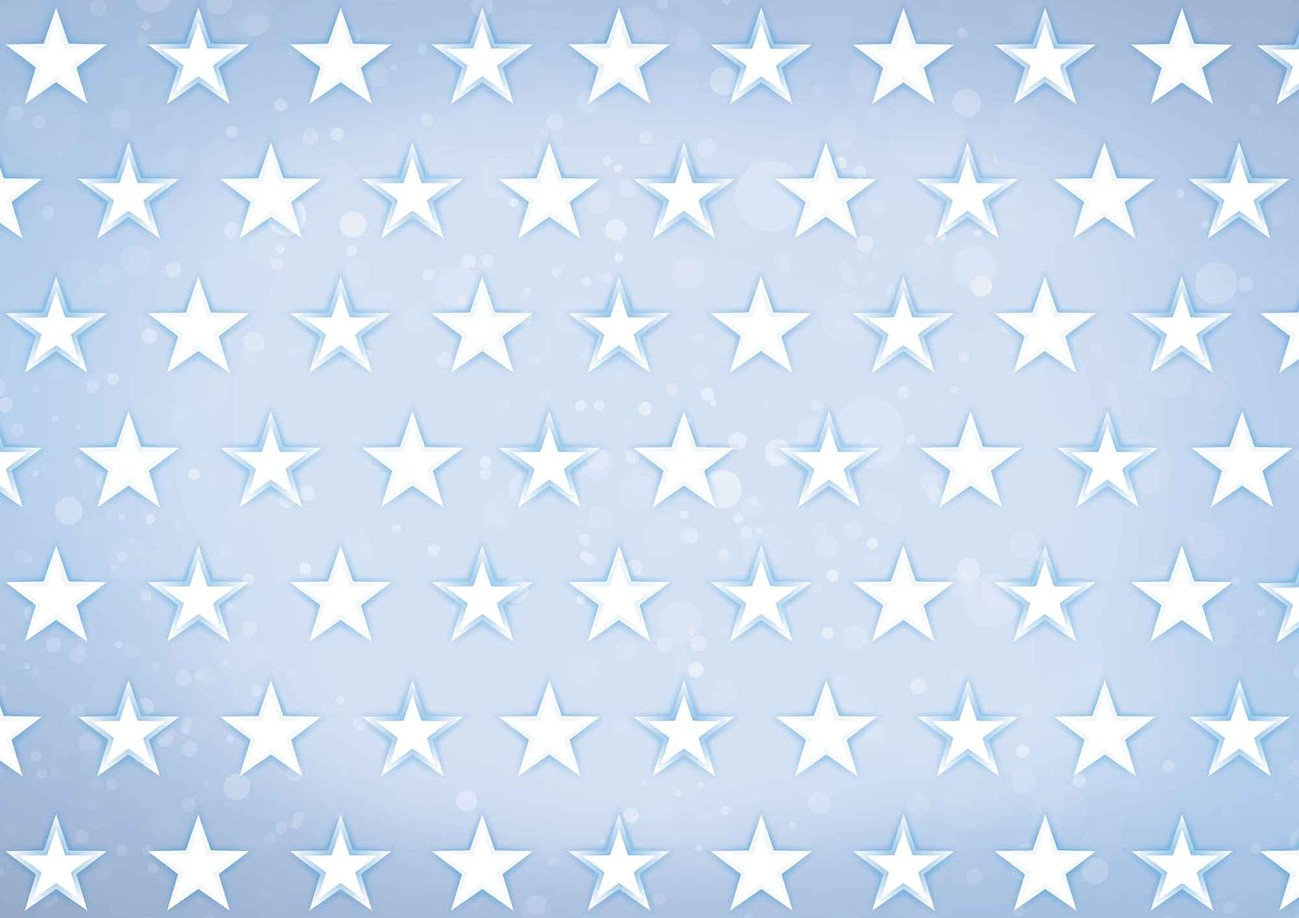 Fototapete tapete sternchen blau bei europosters - Fototapete blau ...