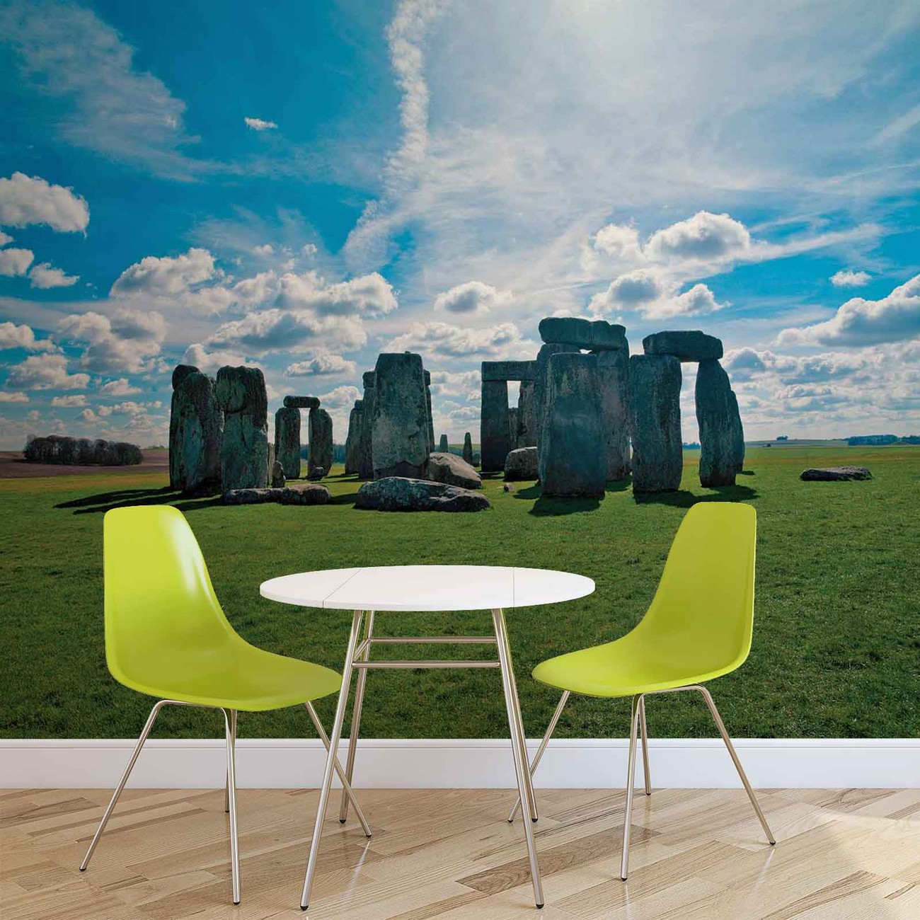 fototapete tapete stonehenge natur bei europosters kostenloser versand. Black Bedroom Furniture Sets. Home Design Ideas