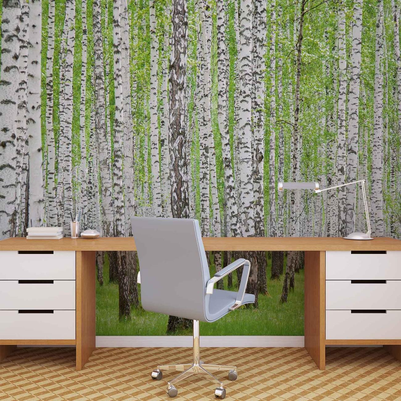 fototapete tapete wald b ume natur bei europosters kostenloser versand. Black Bedroom Furniture Sets. Home Design Ideas
