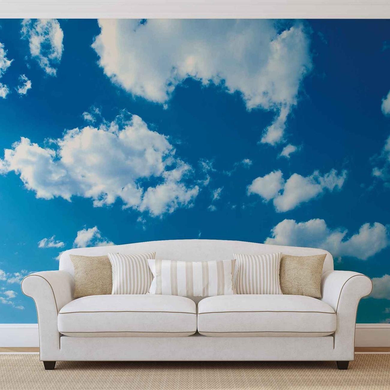 fototapete tapete wolken himmel natur bei europosters. Black Bedroom Furniture Sets. Home Design Ideas