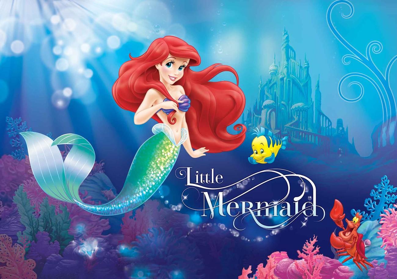 Disney Princezna Ariel Fototapeta, Tapeta Na Zeď Na Posters.cz