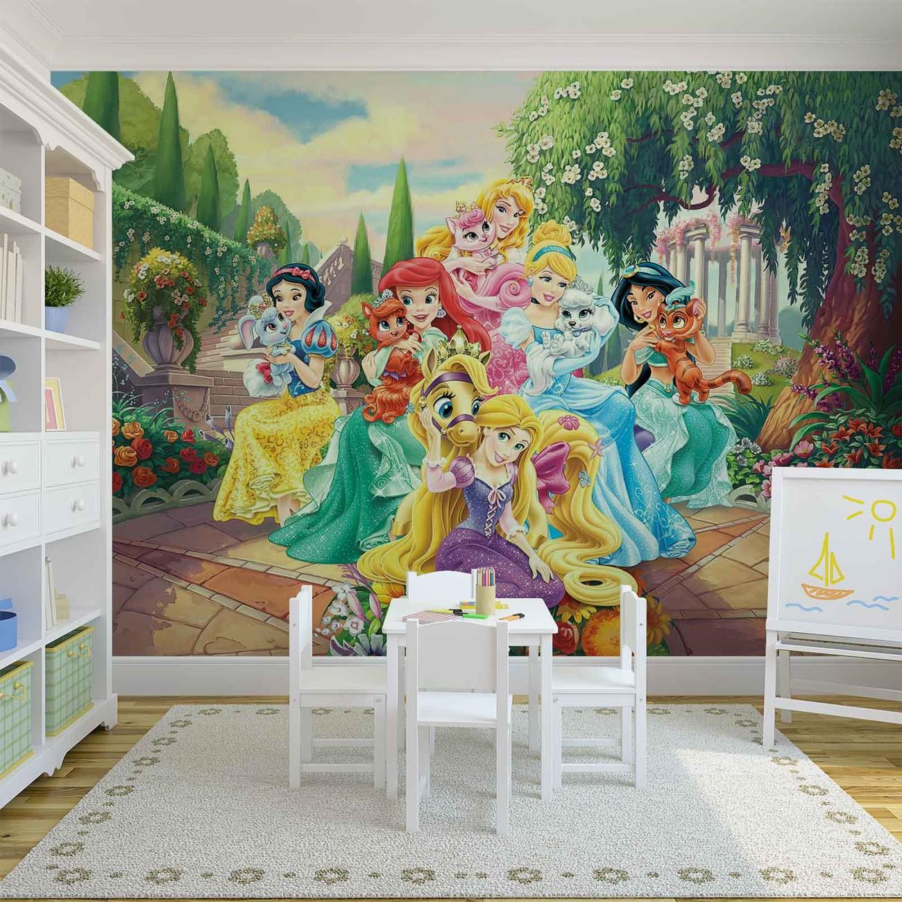 5deac256adc5 Fototapeta Disney Princezné Rapunzel Ariel - Tapeta na stenu na ...