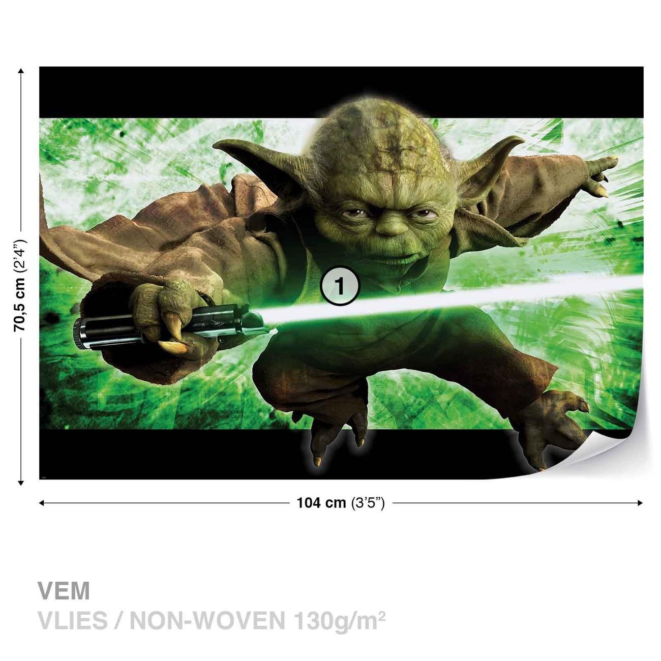 Gwiezdne Wojny Yoda Fototapeta Tapeta Kup Na Posterspl