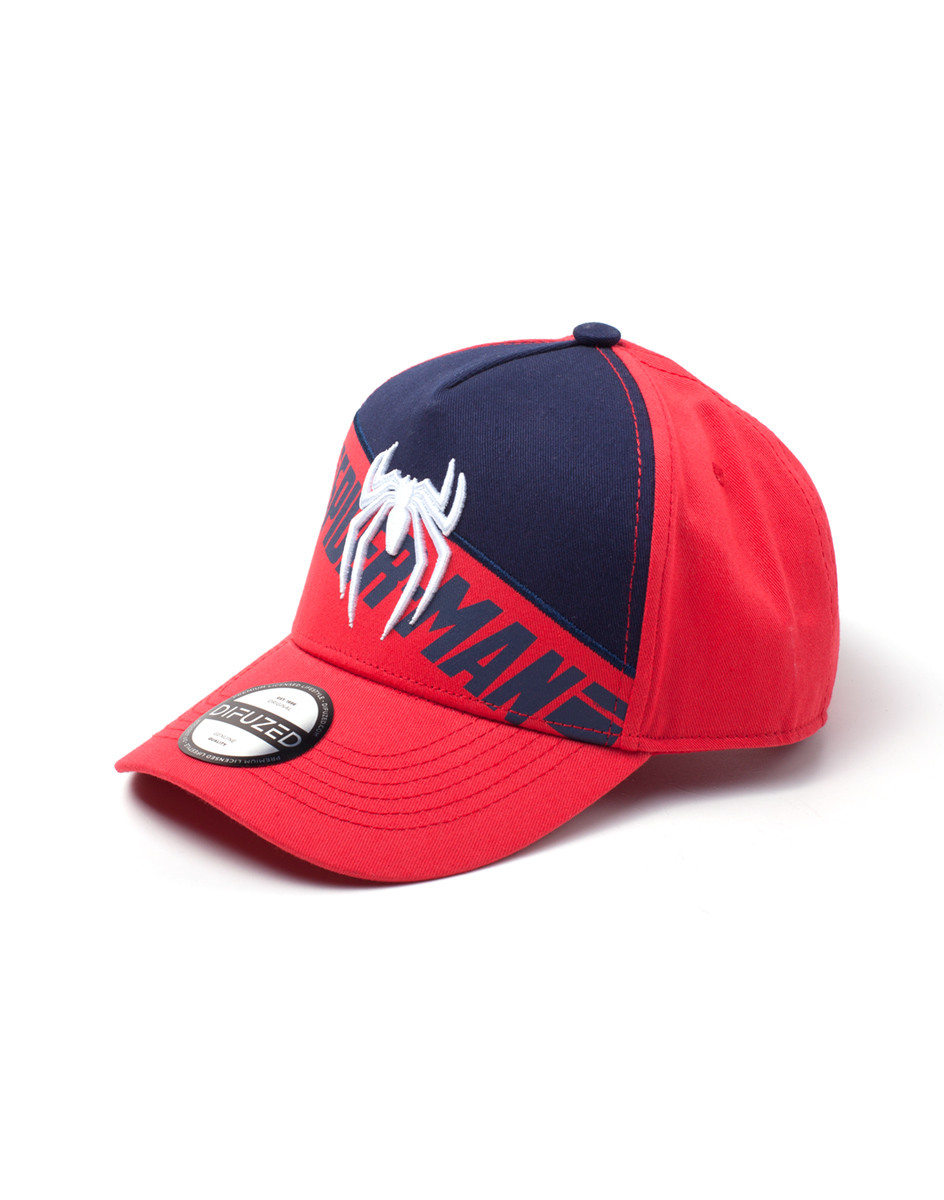 Spiderman - PS4 3D Logo Gorra  fe7579f3df3