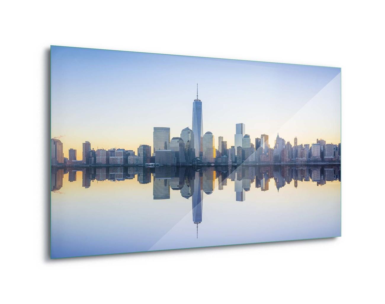 Glasbilder manhattan mirror bei europosters