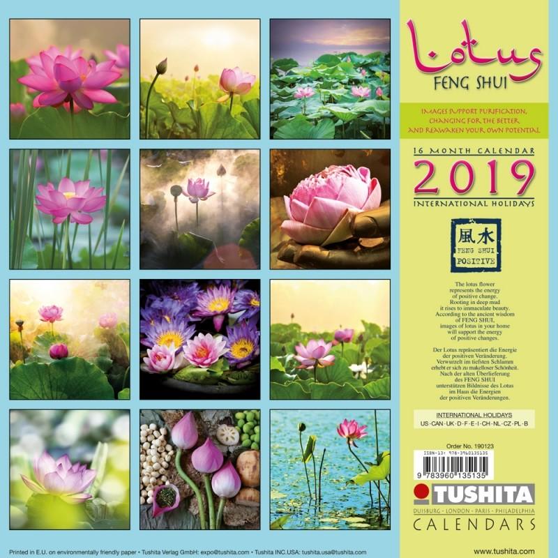 Lotus Feng Shui - Kalendáre 2019 na Posters.sk 1f56108974