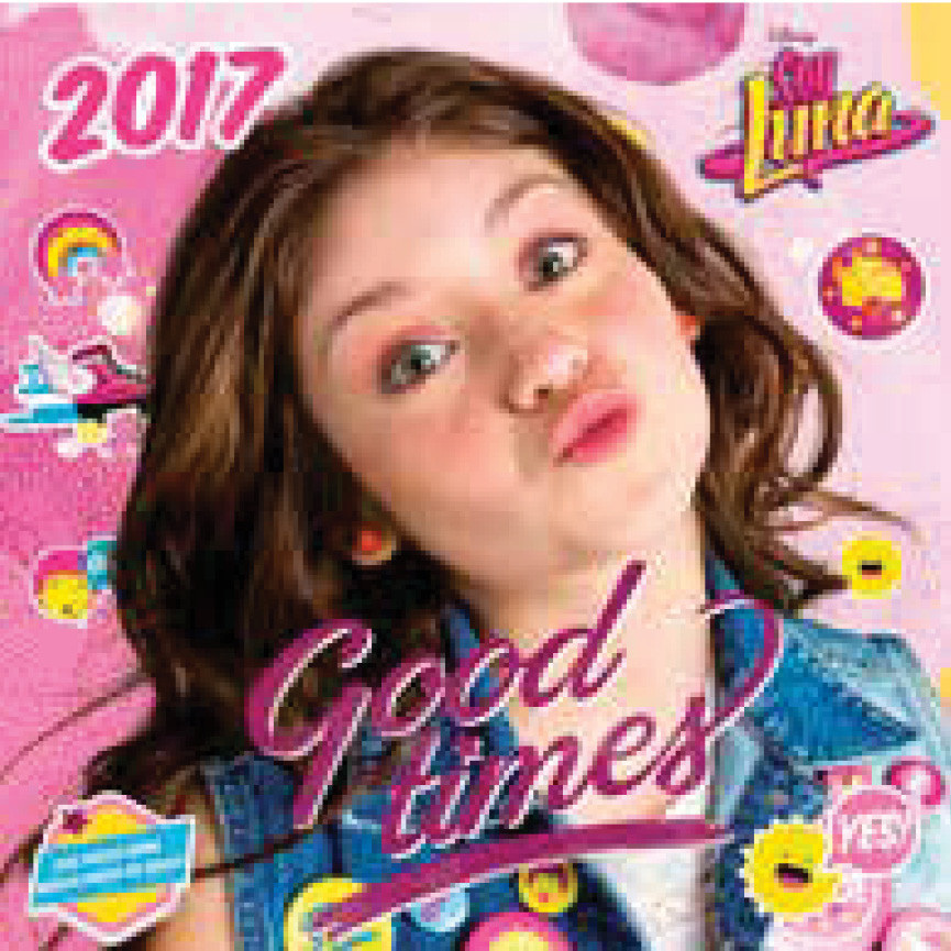 Disney Soy Luna Kalendar 2021 Plakat Poster Slika Na