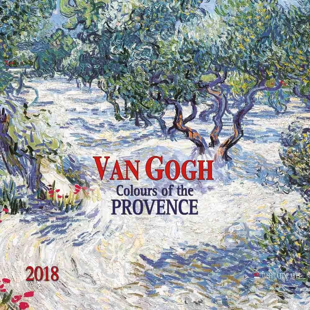 Vincent Van Gogh Colours Of The Provence Kalendarz 2020