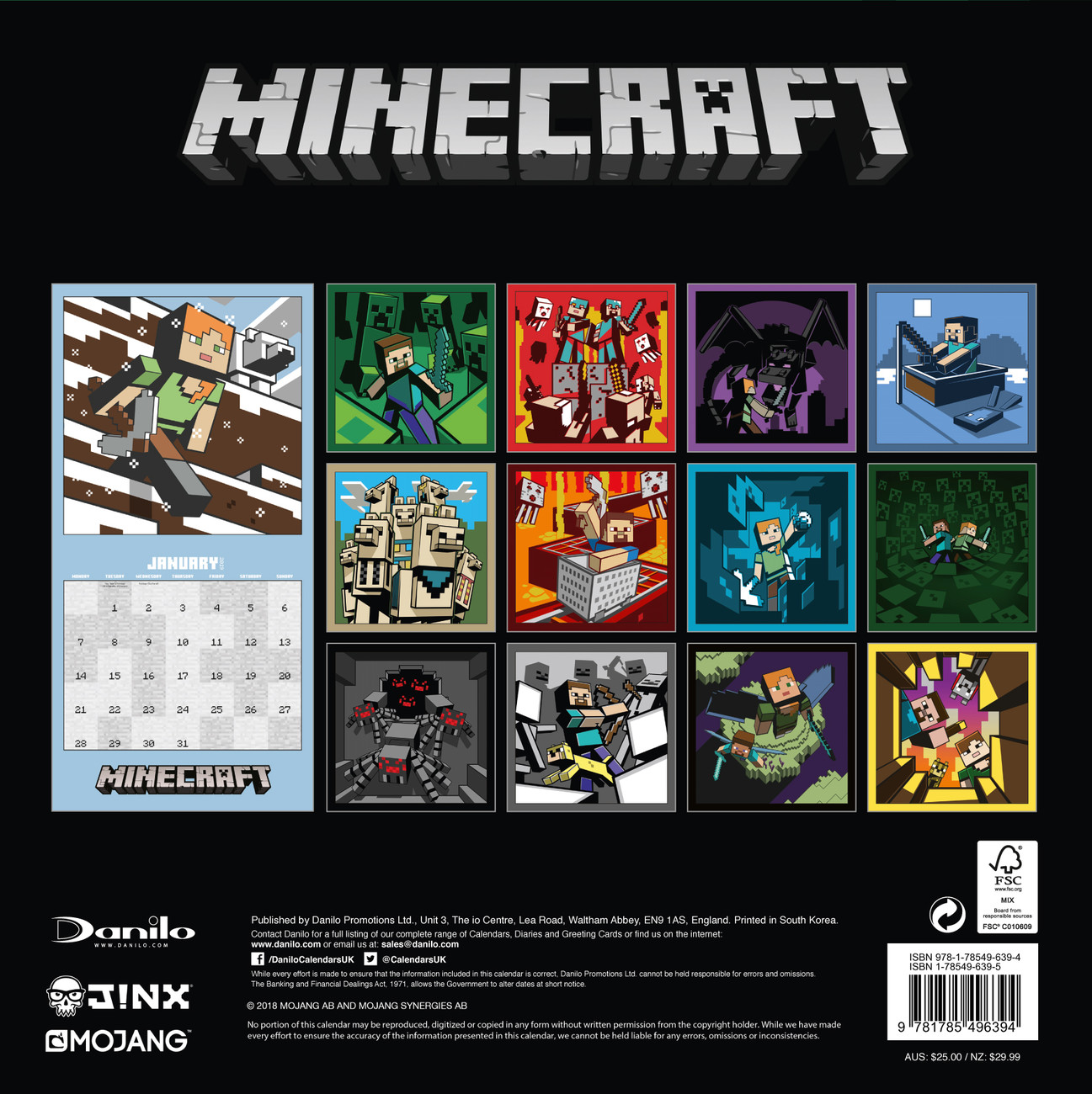 Kalender Minecraft