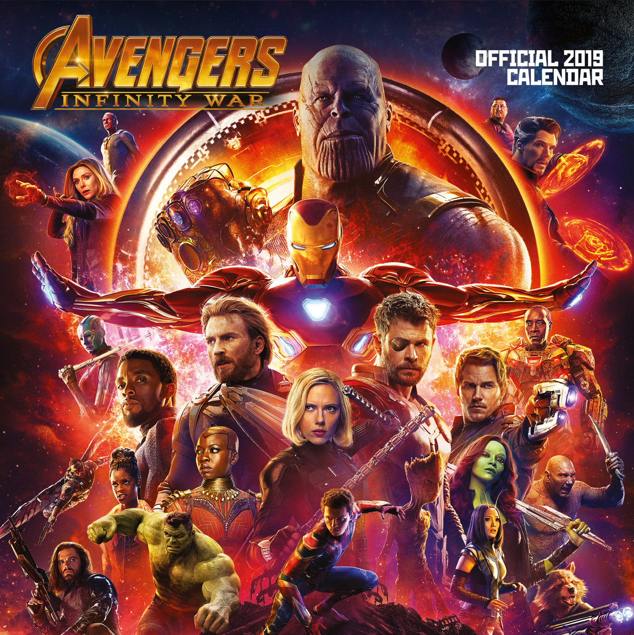 Kalender 2021 Avengers Infinity War bei EuroPosters