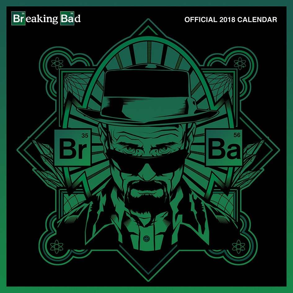 Kalender 2018 Breaking Bad bei EuroPosters