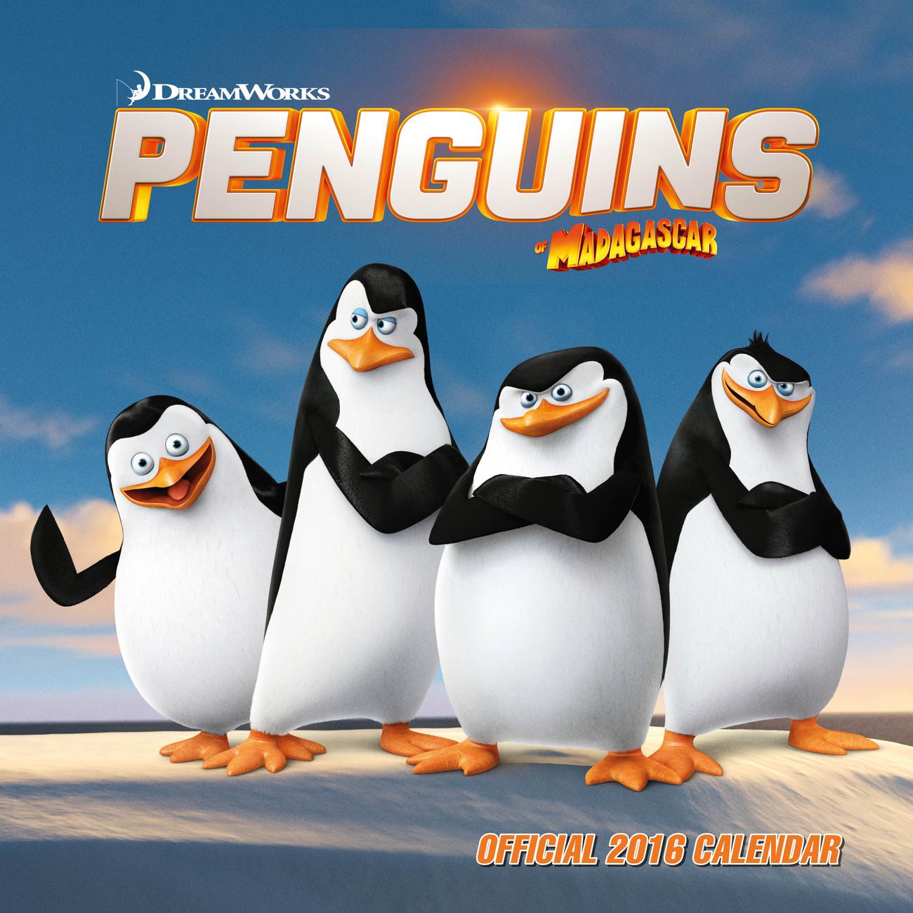 kalender 2021 die pinguine aus madagascar bei europosters