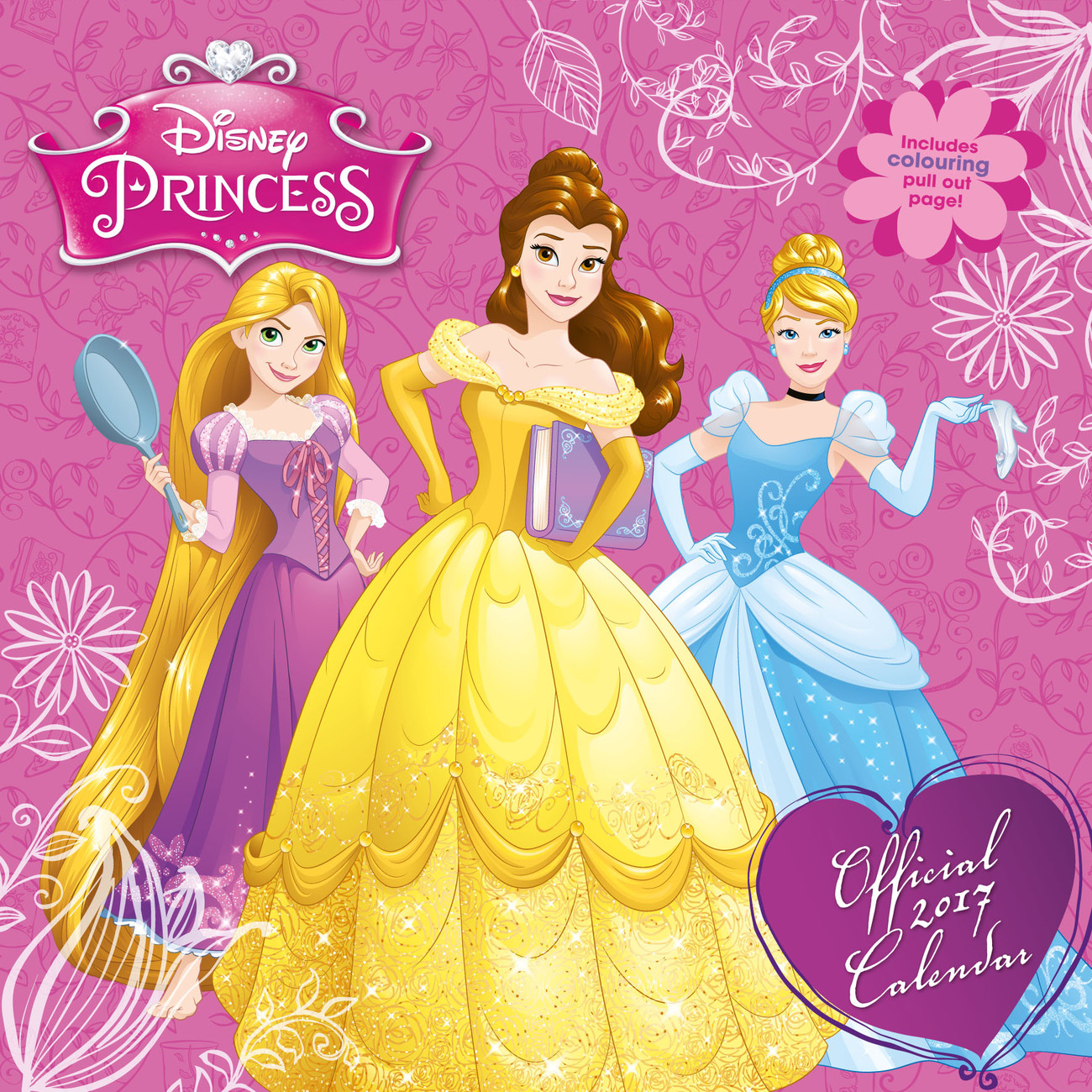 Kalender 2018 Disney - Princess bei EuroPosters