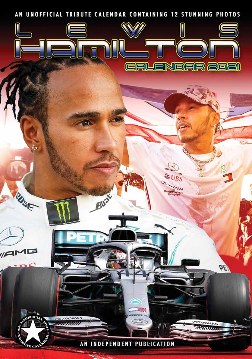 Kalender 2021 Lewis Hamilton bei EuroPosters