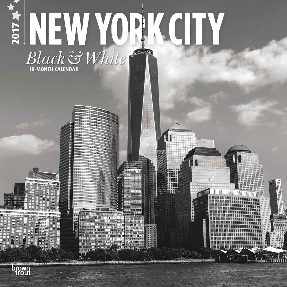 Kalender 2019 New York Black White Bei Europosters