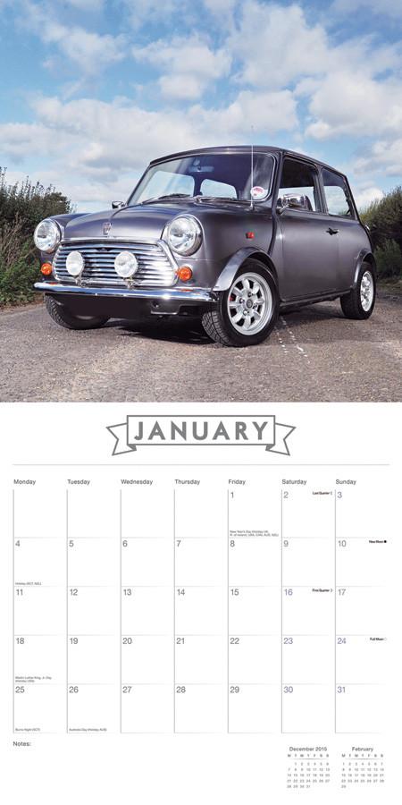 kalender 2019 original mini. Black Bedroom Furniture Sets. Home Design Ideas