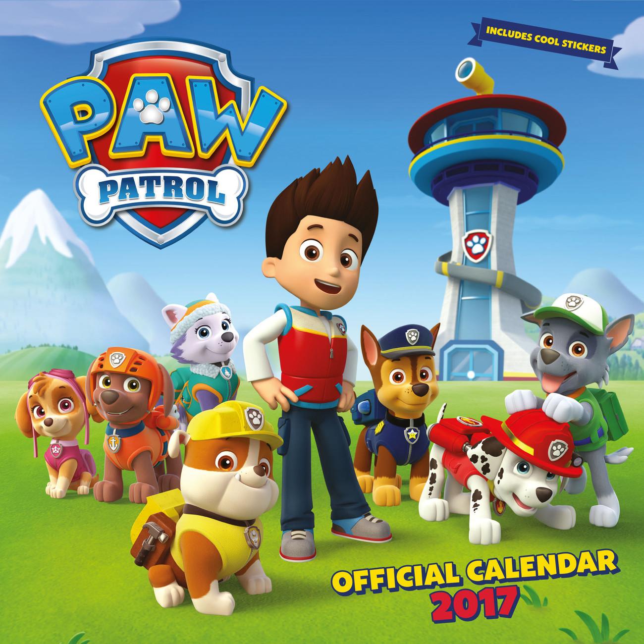 Kalender 2020 Paw Patrol