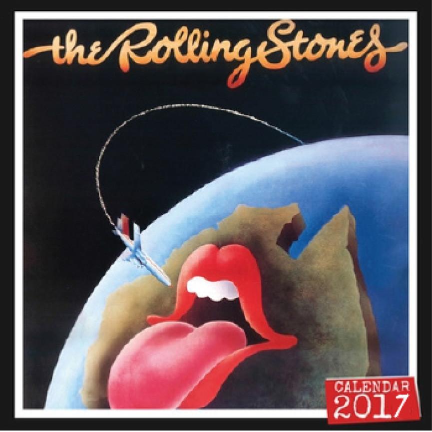 Bestel een Rolling Stones kalender 2017 op EuroPosters.nl Rolling Stones Nederland 2017