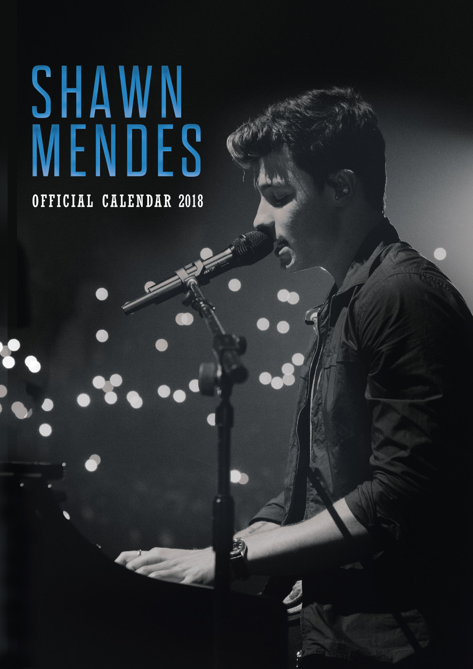 Kalender 2018 Shawn Mendes bei EuroPosters