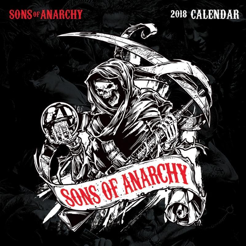 kalender 2019 sons of anarchy. Black Bedroom Furniture Sets. Home Design Ideas