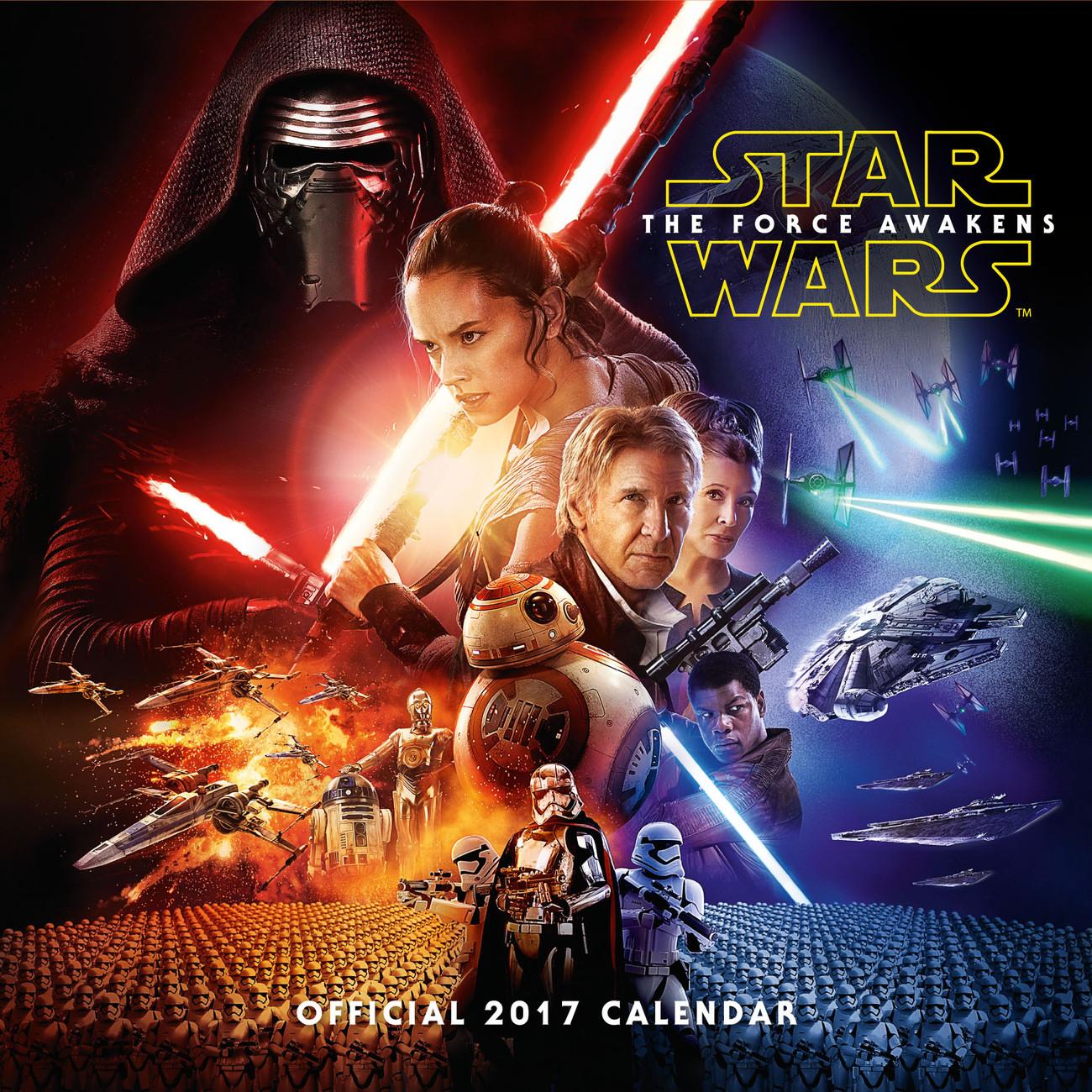Kalender 2019 Star Wars: Episode VII bei EuroPosters