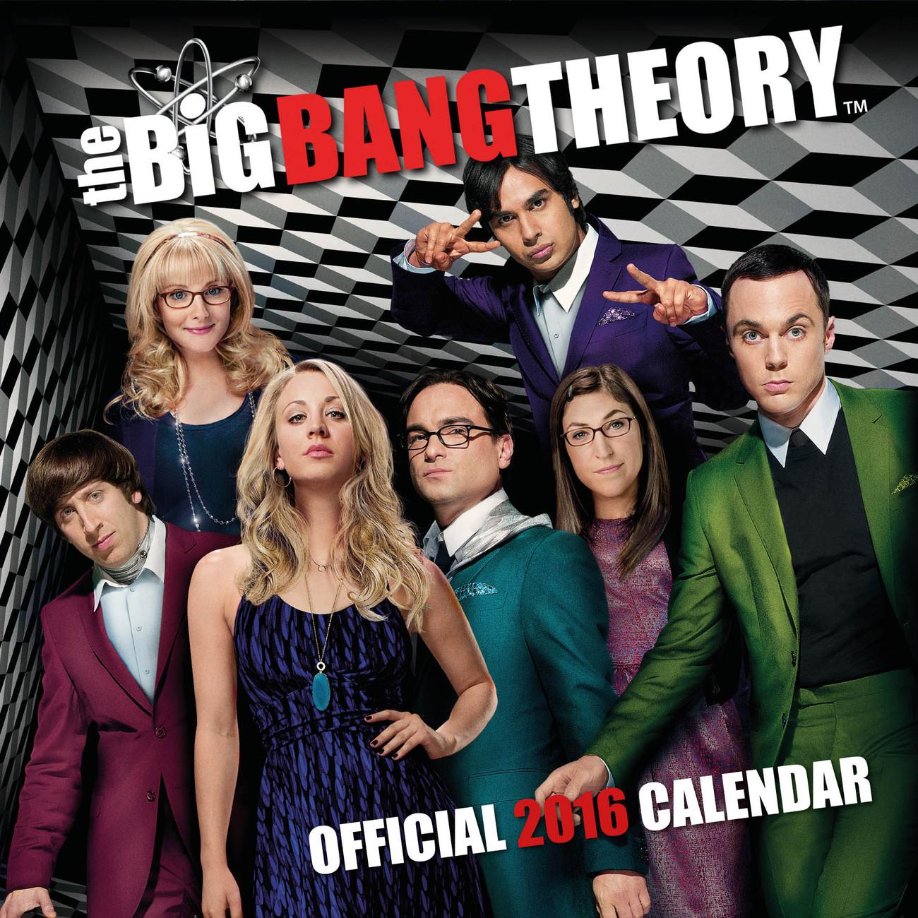 Bestel Een The Big Bang Theory Kalender 2019 Op Europostersnl
