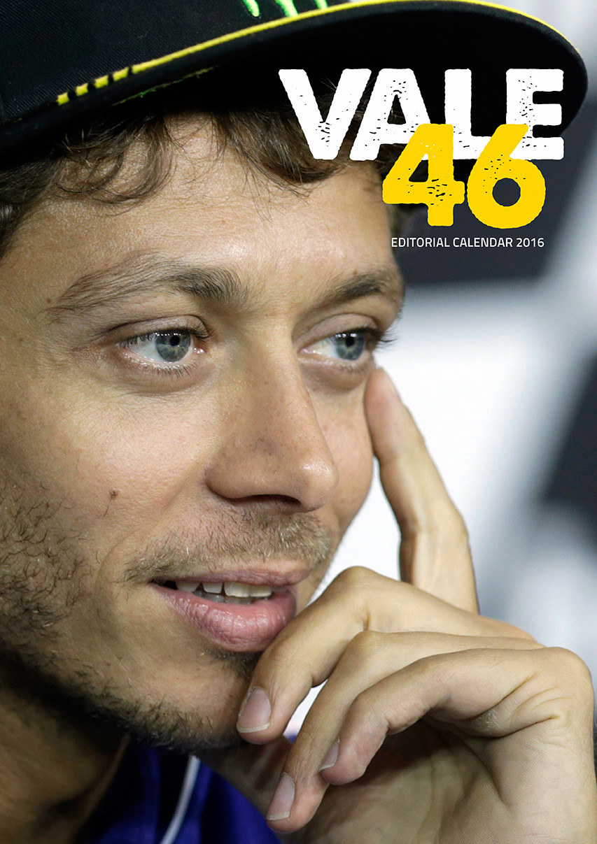 Bestel een Valentino Rossi kalender 2017 op EuroPosters.nl