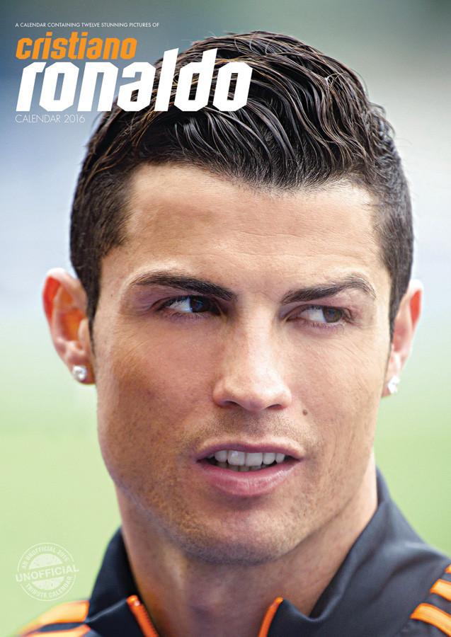 Cristiano Ronaldo Kalender 2019 på Europosters.dk