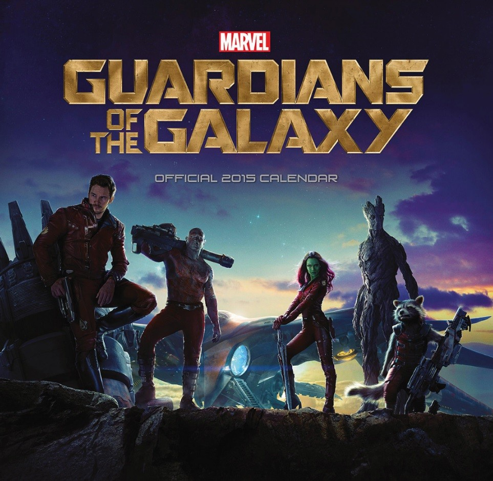 Guardians Of The Galaxy Kalender 2019 på Europosters.dk