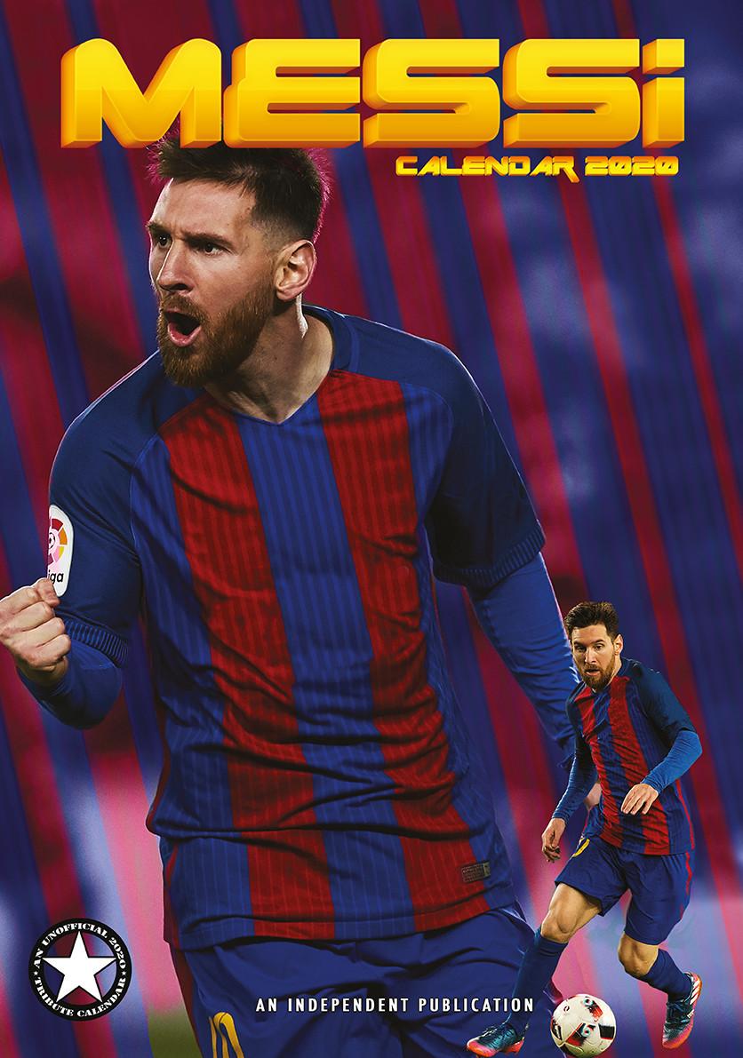 Lionel Messi Kalender 2021 på Europosters.dk