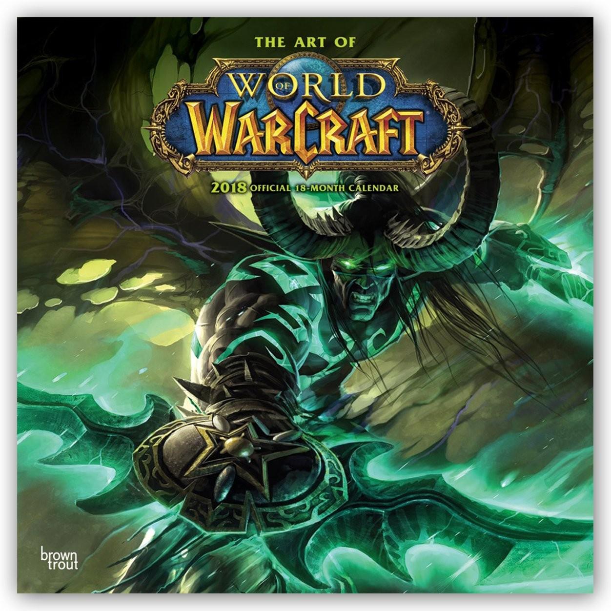 Efterstræbte World of Warcraft Kalender 2020 på Europosters.dk RE-33