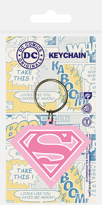 Supergirl Shield Klíčenka Přívěšek Prodej Na Posterscz