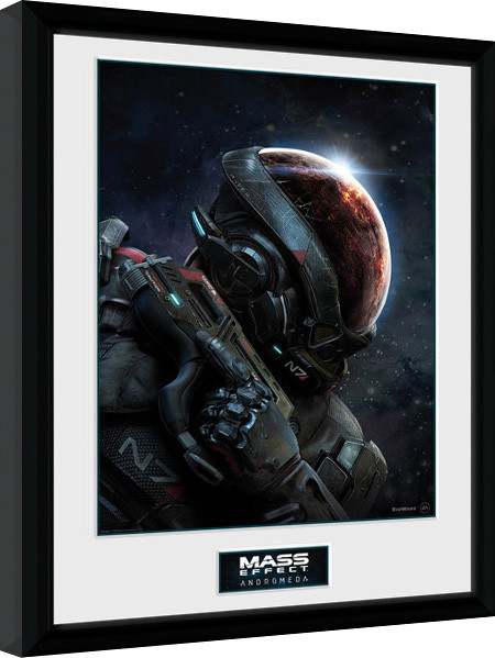 mass effect andromeda gerahmte poster kaufen bei europosters. Black Bedroom Furniture Sets. Home Design Ideas
