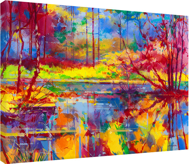 leinwand poster bilder doug eaton reflections at. Black Bedroom Furniture Sets. Home Design Ideas